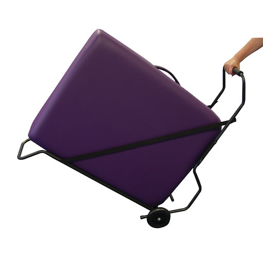 Trolley for massage tables