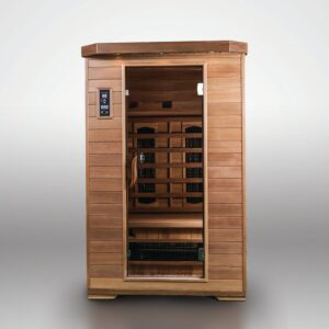 Luxury 2 person infra red sauna